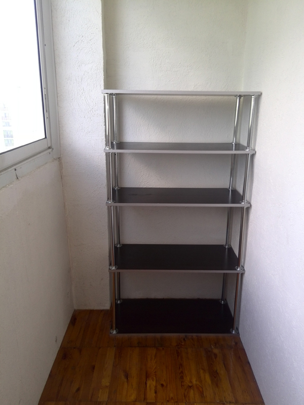 Стеллаж длЯ балкона стеллаж 800*350 - цена, наличие, сроки п.